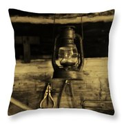 That Old Lantern Throw Pillow