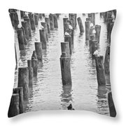 That Old Warf Throw Pillow