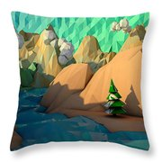 That Perfect Tree Throw Pillow