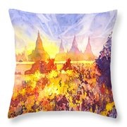 That Ruined Feeling Throw Pillow