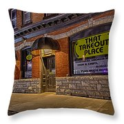 That Takeout Place Throw Pillow