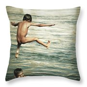 That Was A Great Day Throw Pillow