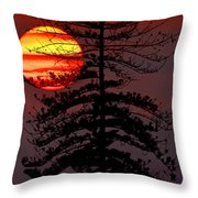 That Was The Day... Throw Pillow