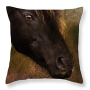 that Wild Look Throw Pillow