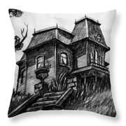 Phycho 1960 House Throw Pillow