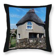 Thatched Cottage Gayleen Ireland Throw Pillow