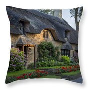 Thatched Roof Throw Pillow