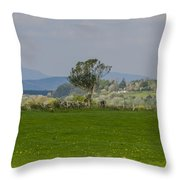 Thatched Roof - County Mayo Ireland Throw Pillow