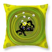 That's All Folks Throw Pillow