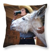 That's My Drink Throw Pillow
