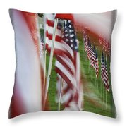 The 10th Anniversary Of 9-11-2001 Forest Park St Louis Mo Img 5708 Throw Pillow