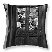 The 2nd Door Throw Pillow