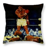 The 2nd Fight  Throw Pillow