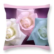 The 3 Graces Throw Pillow by Joan-Violet Stretch