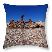 The 3 Marys Throw Pillow by FireFlux Studios