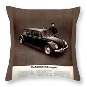 The 35000 Volkswagen Throw Pillow