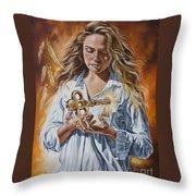 The 7 Spirits Series - The Spirit Of Understanding Throw Pillow