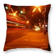 The 905 Throw Pillow