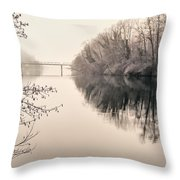 The Absence Throw Pillow