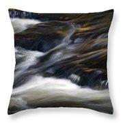 The Abstract Of Motion Throw Pillow