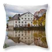 The Academy Mill Ws Throw Pillow