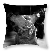 The Actor's Interview Throw Pillow