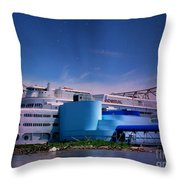 The Admiral In Space Throw Pillow