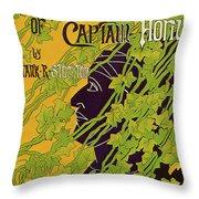 The Adventures Of Captain Horn 1895 Throw Pillow