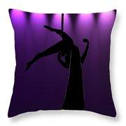 the Aerialist Throw Pillow