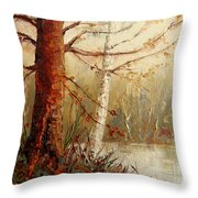 The African Prince Throw Pillow