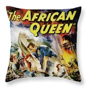 The African Queen  Throw Pillow