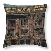 The Albany Throw Pillow