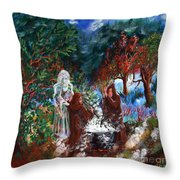 The Alchemists Throw Pillow