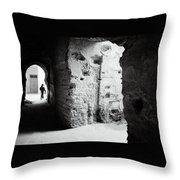 Mysterious Labyrinth  Throw Pillow