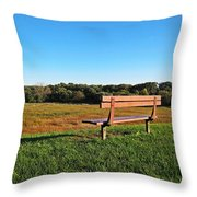 The Allure Of Solitude Throw Pillow