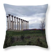 The Almost Forgotten Columns -- 2 Throw Pillow