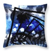 The Amazing Explosion  Throw Pillow