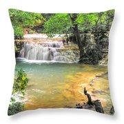 The Amazing Travertines Of Krushuna Throw Pillow