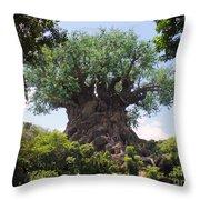 The Amazing Tree Of Life  Throw Pillow