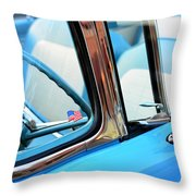The American 1956 Throw Pillow