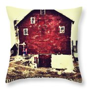 The American Experience Throw Pillow