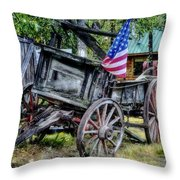 The American West Throw Pillow