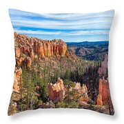 The Amphitheater At Farview Point Throw Pillow