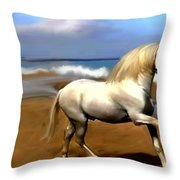 The Andalusian Throw Pillow