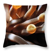 The Anemone Throw Pillow