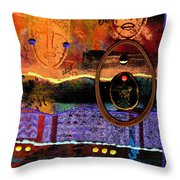 The Angels And The Star Throw Pillow