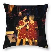 The Angels Throw Pillow