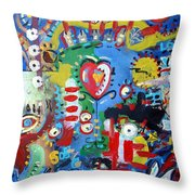 The Answer Throw Pillow by Venus