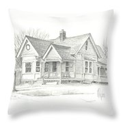 The Antique Shop Throw Pillow