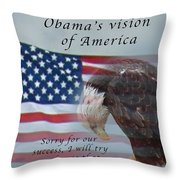 The Apology Tour Throw Pillow